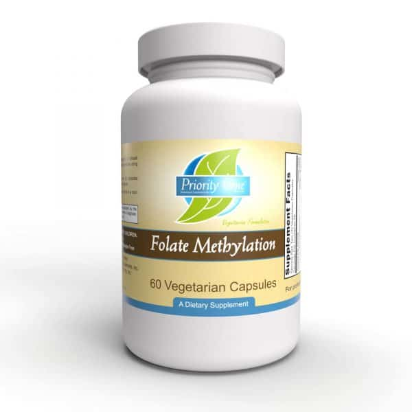 folate methylation 60 vcaps by priority one