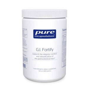 G.i. Fortify 400g By Pure Encapsulations