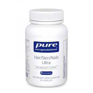 Hair Skin Nails Ultra 60c By Pure Encapsulations