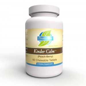 kinder calm 60 tabs by priority one