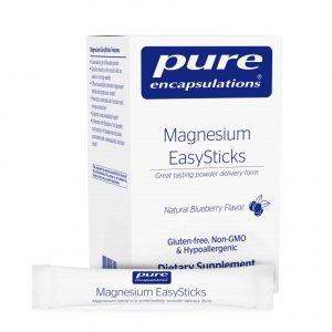 magnesium easysticks 30packets by pure encapsulations