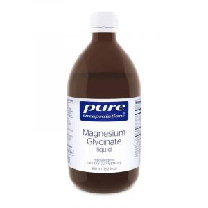 magnesium glycinate liquid 480ml by pure encapsulations