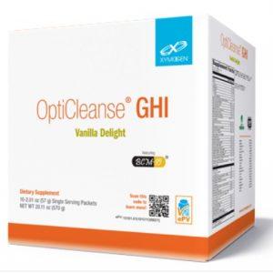 opticleanse ghi vanilla delight 10 servings by xymogen