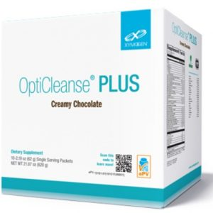 opticleanse plus creamy chocolate 10 servings by xymogen