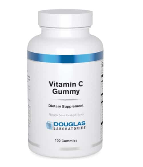 vitamin c gummy 100 gummies by douglas labs