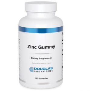 zinc gummy 100 gummies by douglas labs