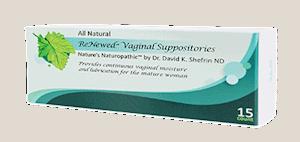 renewed vaginal suppositories 15 count by bezwecken