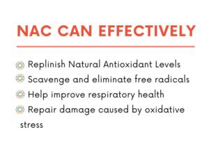 Benefits of NAC