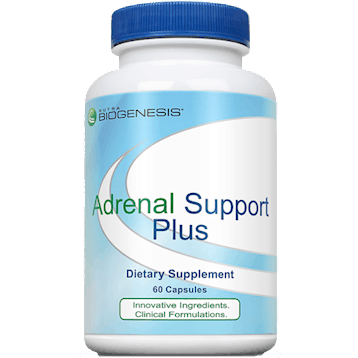 adrenal support plus 60 vegcaps by nutri biogenesis