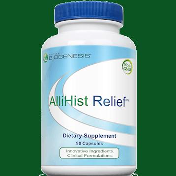allihist relief 90 caps by nutra biogenesis
