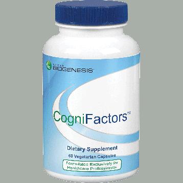 cognifactors 60 vegcaps by nutra biogenesis