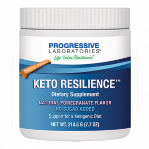keto resilience 214 grams by progressive labs