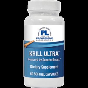 krill ultra 60 softgels by progressive labs