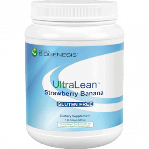 ultralean strawberry banana 1.36 lb by nutra biogenesis