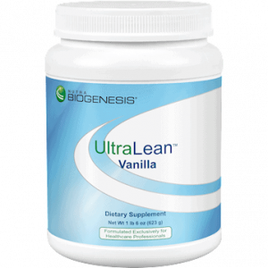 ultralean vanilla 14 servings by nutra biogenesis