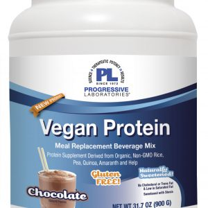 vegan protein chocolate 900 grams by progressive labs
