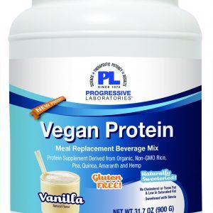 vegan protein vanilla 900 grams by progressive labs