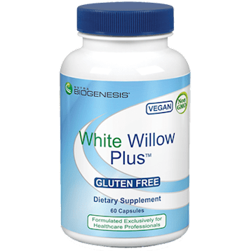 white willow plus 60 caps by nutra biogenesis