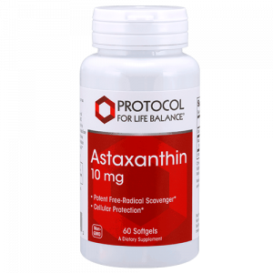 astaxanthin 10 mg 60 gels by protocol