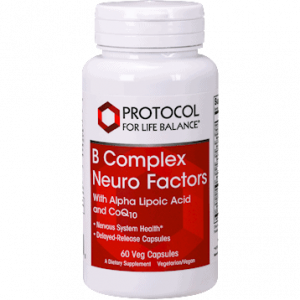 b complex neuro factors 60 vegcaps by protocol