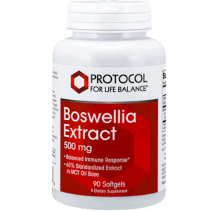 boswellia extract 500mg 90 gels by protocol