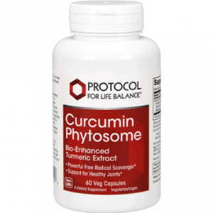 curcumin phytosome 60 vegcaps by protocol