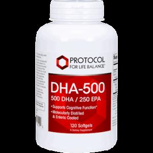 dha 500 500 dha 250 epa 120 softgels by protocol
