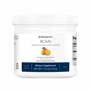 bcaas orange mango powder 219g by metagenics
