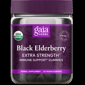 black elderberry es 40 gummies by gaia herbs