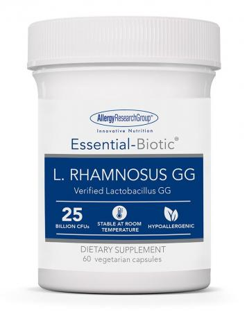 essential biotic l. rhamnosus 60 vcaps by allergy research group