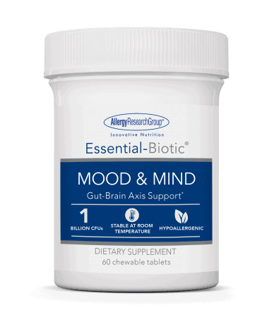 essential biotic mood & mind 60 vcaps by allergy research group