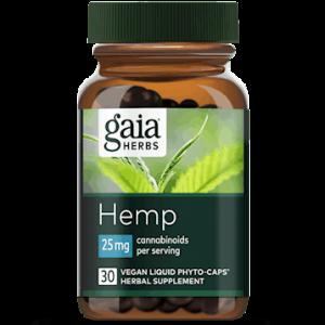 hemp full spectrum extract 25 mg 30 caps by gaia herbs