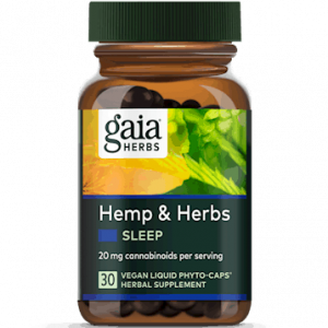 hemp & herbs sleep 30 caps by gaia herbs
