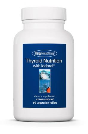 thyroid nutrition 60 vcaps by allergy research group