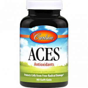 aces antioxidant 90 sgels by carlson labs