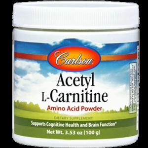 acetyl l carnitine powder 100 gms by carlson labs