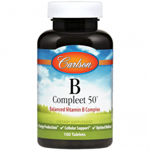 b compleet 50 100 tabs by carlson labs